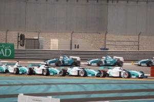 View of the Yas Marina Formula 1 Circuit