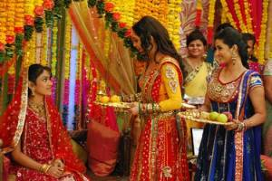 Godh Bharai - a common ritual in North India for newly pregnant ladies