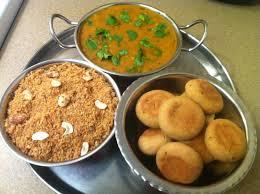 Dal Bati Choorma - a popular Rajasthani delicacy