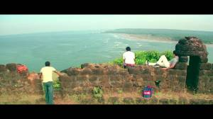 Tranquility at Chapora Fort, Goa - a still from the film Dil Chahta Hain
