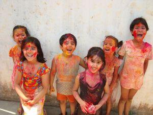 Holi - the festival of colours