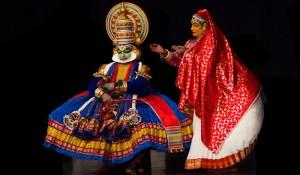 A Kathakali Dance Perfomance