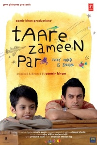A promotional poster of the bollywood film - Taare Zameen Par