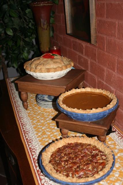 Dawn's Homemade Apple Pie, Pumpkin Pie, & Pecan Pie