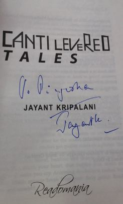 Author Signed Copy of Cantilevered Tales