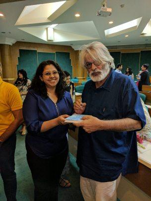 With Jayant Kripalani